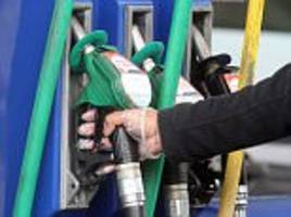 Petrol prices rise 3p a litre in a month and are up over 10p since February