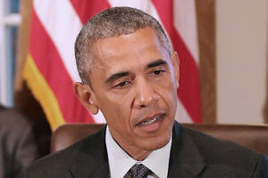 Obama says his Israeli support on par with black civil rights